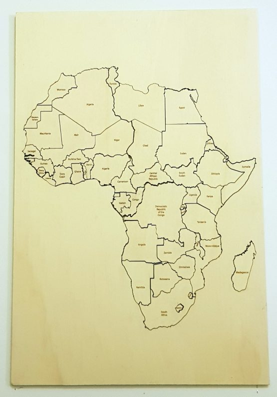 Map of Africa Puzzle
