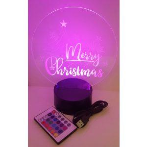 Merry Christmas Night Light