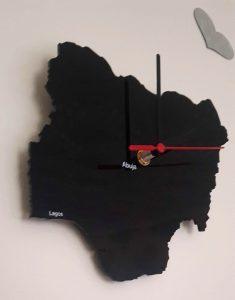 Nigeria Country Wall Clock